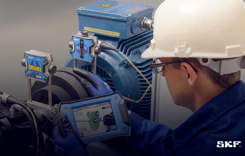 Aumento de confiabilidad industrial mediante alineación láser