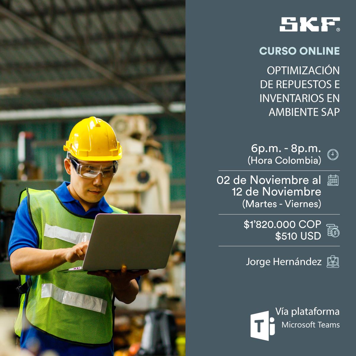 Optimización de repuestos e inventarios en ambiente SAP